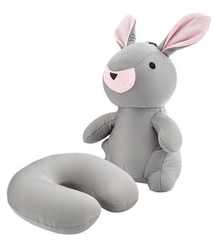 Bunny Travel Pillow GREY main | Samsonite