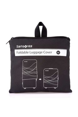 FOLDABLE LUGGAGE COVER M BLACK view | Samsonite