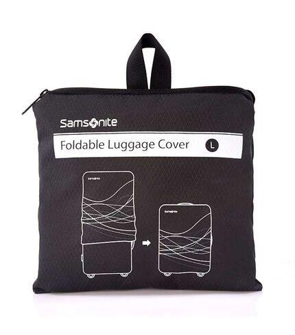 FOLDABLE LUGGAGE COVER L BLACK main | Samsonite