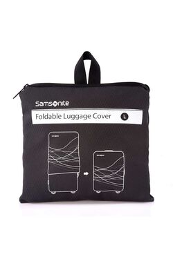 FOLDABLE LUGGAGE COVER L BLACK view | Samsonite