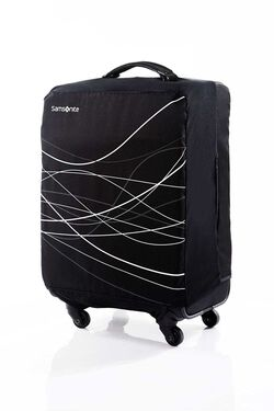 FOLDABLE LUGGAGE COVER S BLACK view | Samsonite